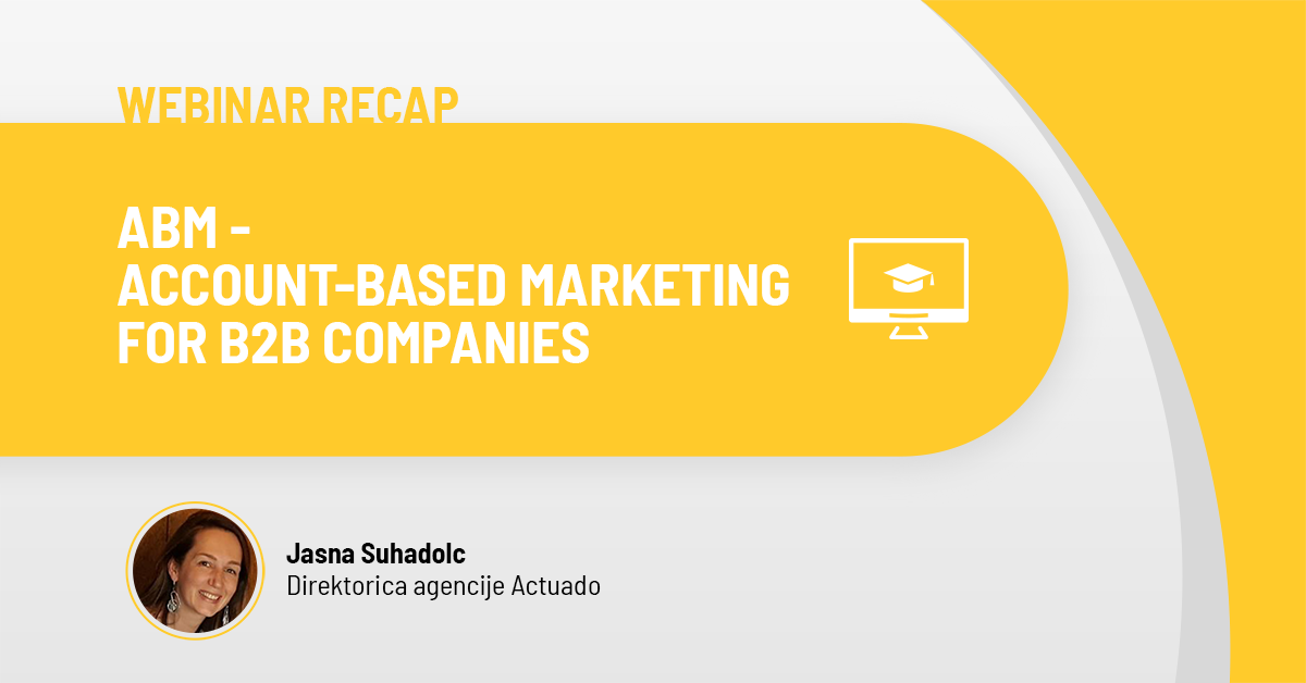 ABM for B2B companies-Actuado blog post